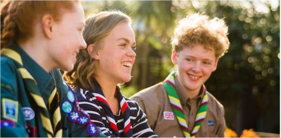 Our new Scout Ambassadors